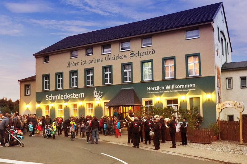 Gaststätte Schmiedestern Berthelsdorf